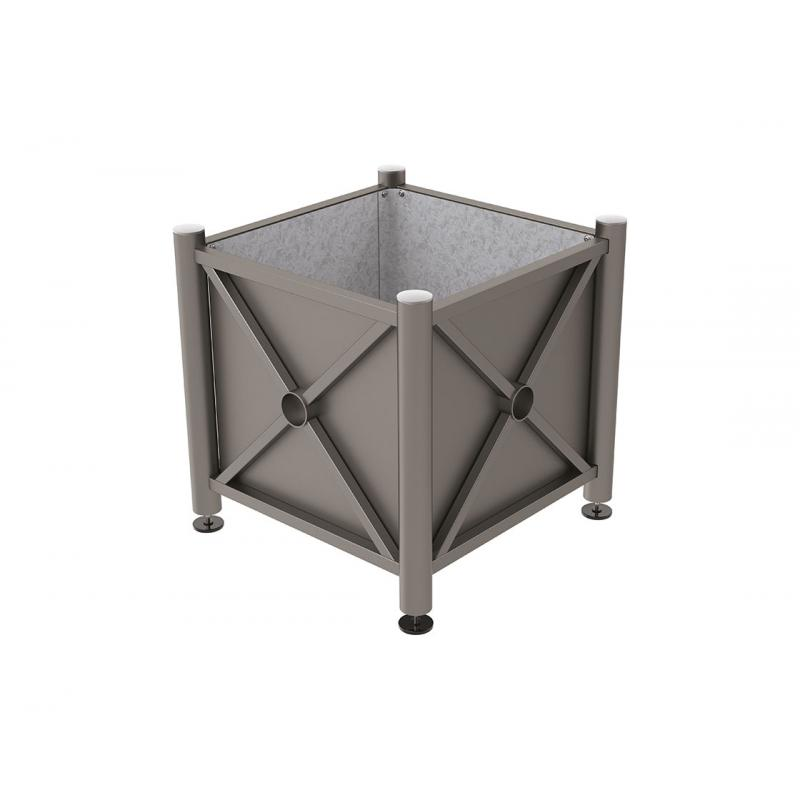 Province steel planters – Stainless steel top