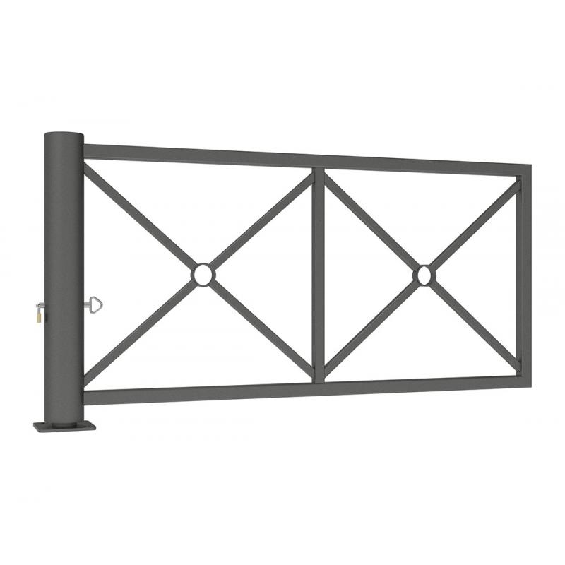 Decorative Swivel Barrier