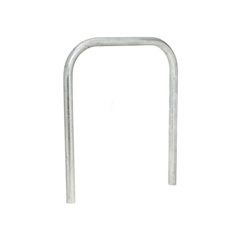 Galvanised steel hoop barrier - Ø 60 mm