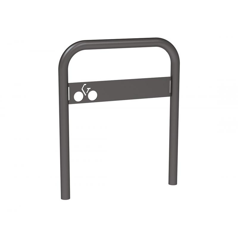 Bicycle Stand With Sign Panel