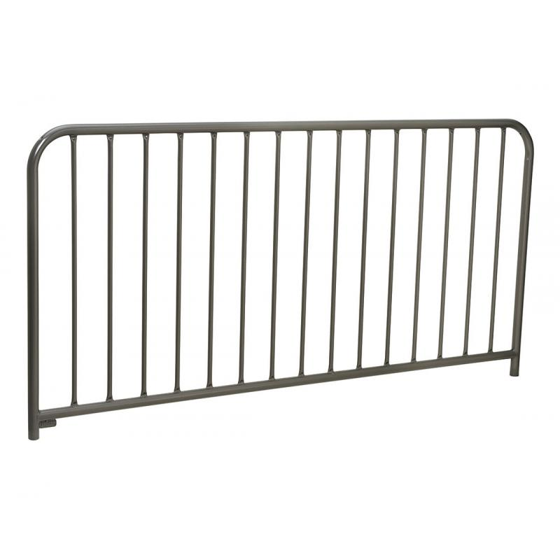 Painted safety guard railings