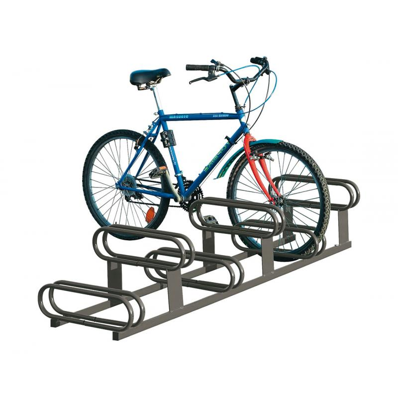 High-Low Bicycle Rack 6 Space