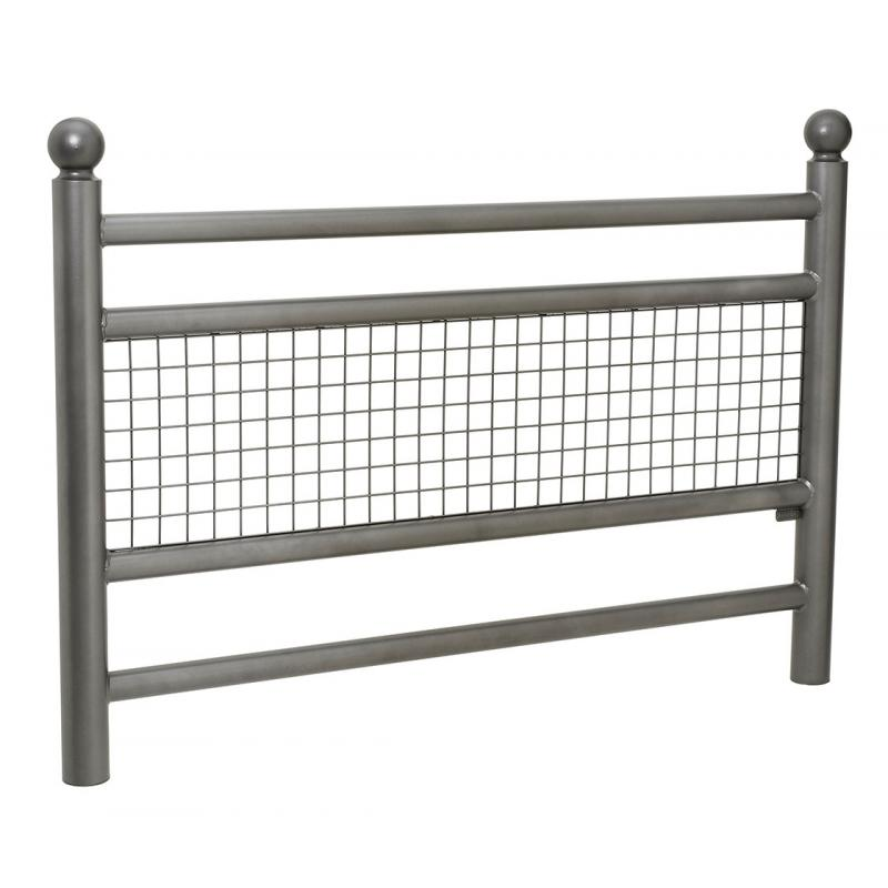 Linea railing with Sphere top cap