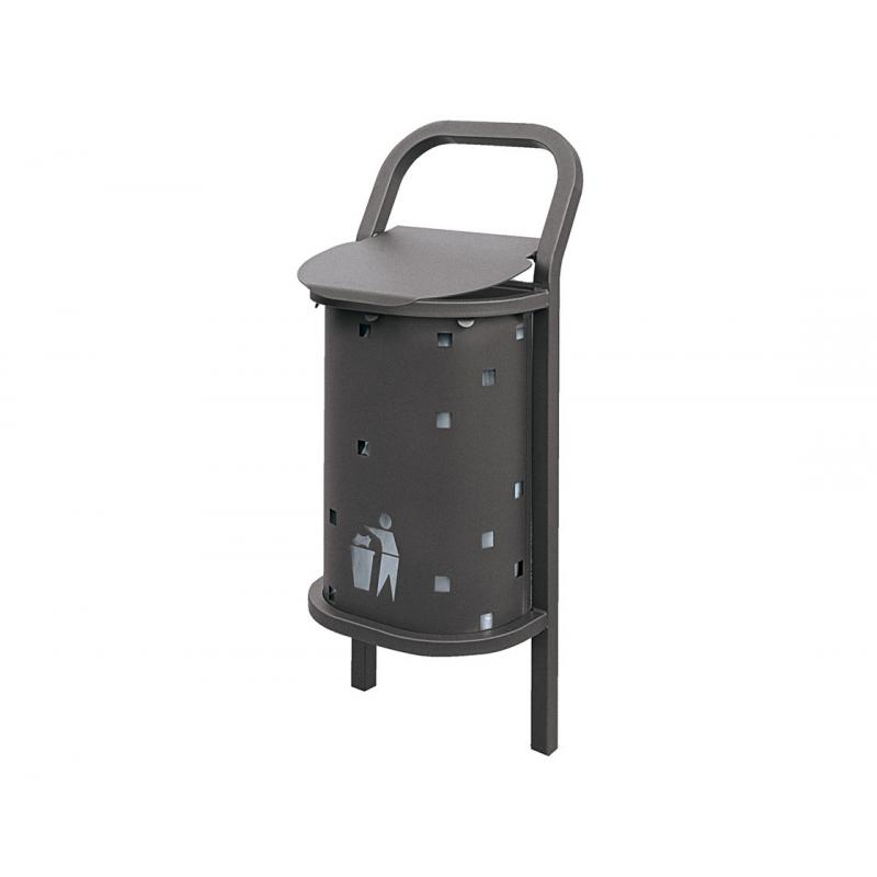 Conviviale® standard litter bin 50 litres
