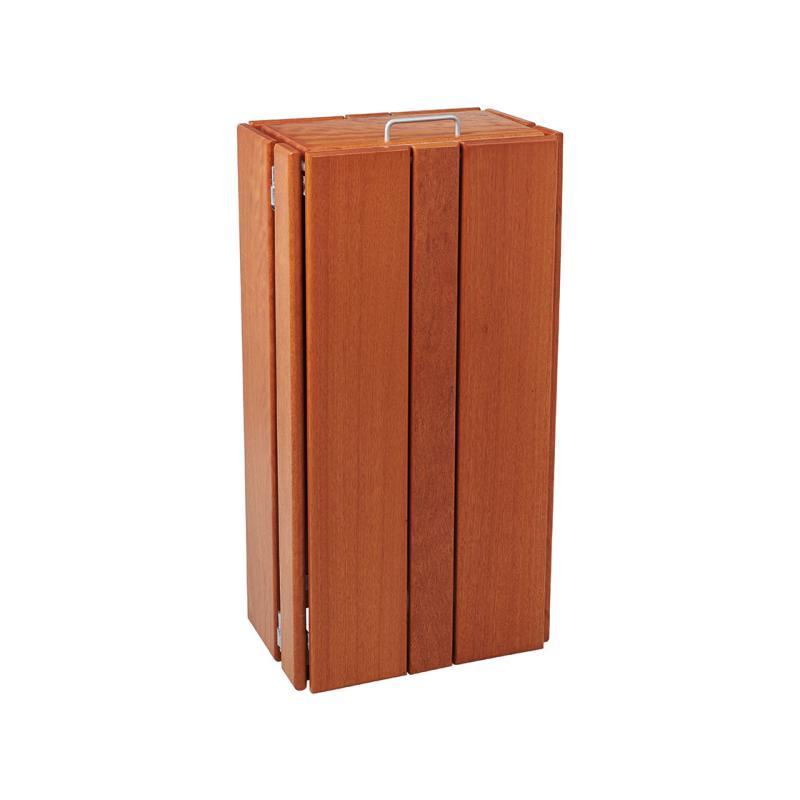Seville wooden litter bins – rectangular - 100 litres