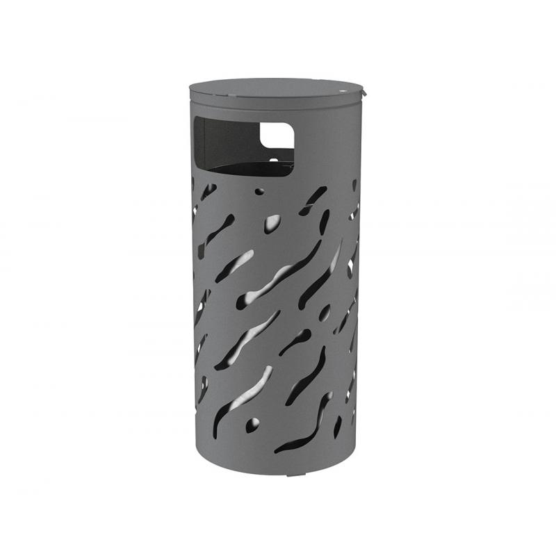 Venice litter bin with cover - 80 liters