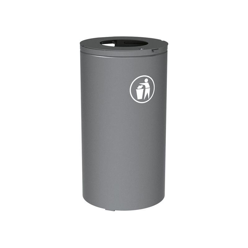 Olbia litter bin - 80 liters