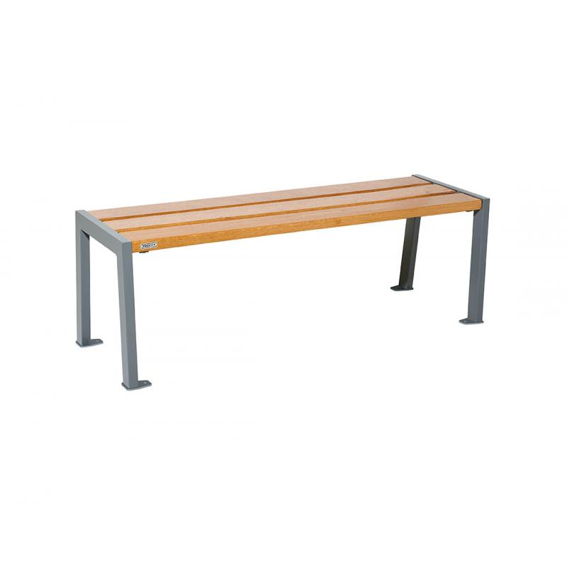 Silaos® wood & steel bench