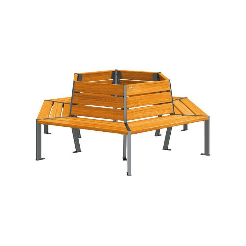 Silaos® tree benches