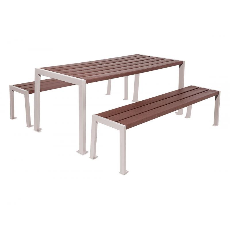 Silaos® Recycled plastic picnic table