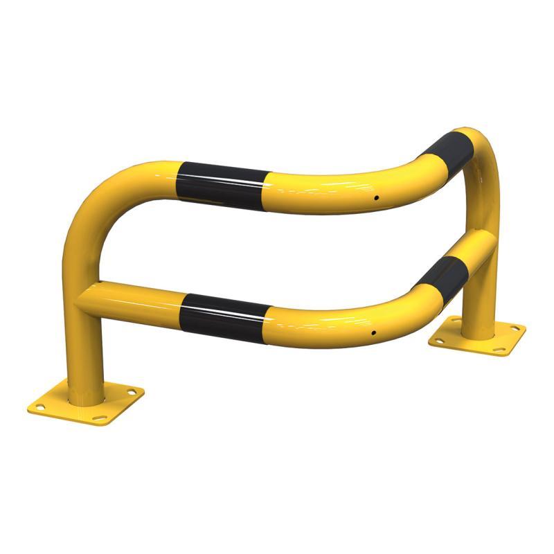 Angled corner safety barrier – 430 mm
