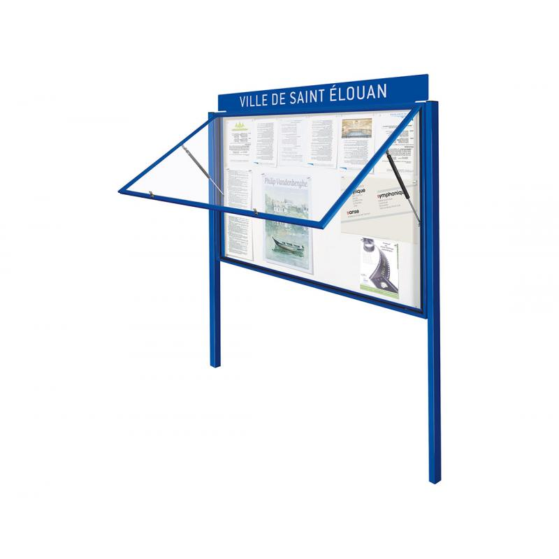 """Classic"" outdoor notice boards"