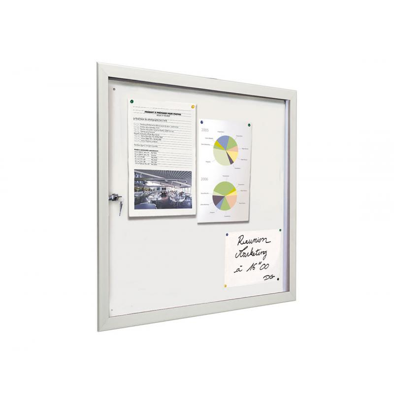 """ECO 100"" Ulltra slim indoor notice boards"