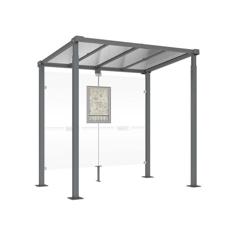 Milan bus shelter
