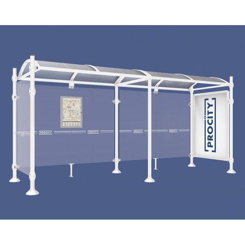 Province Inox bus shelter