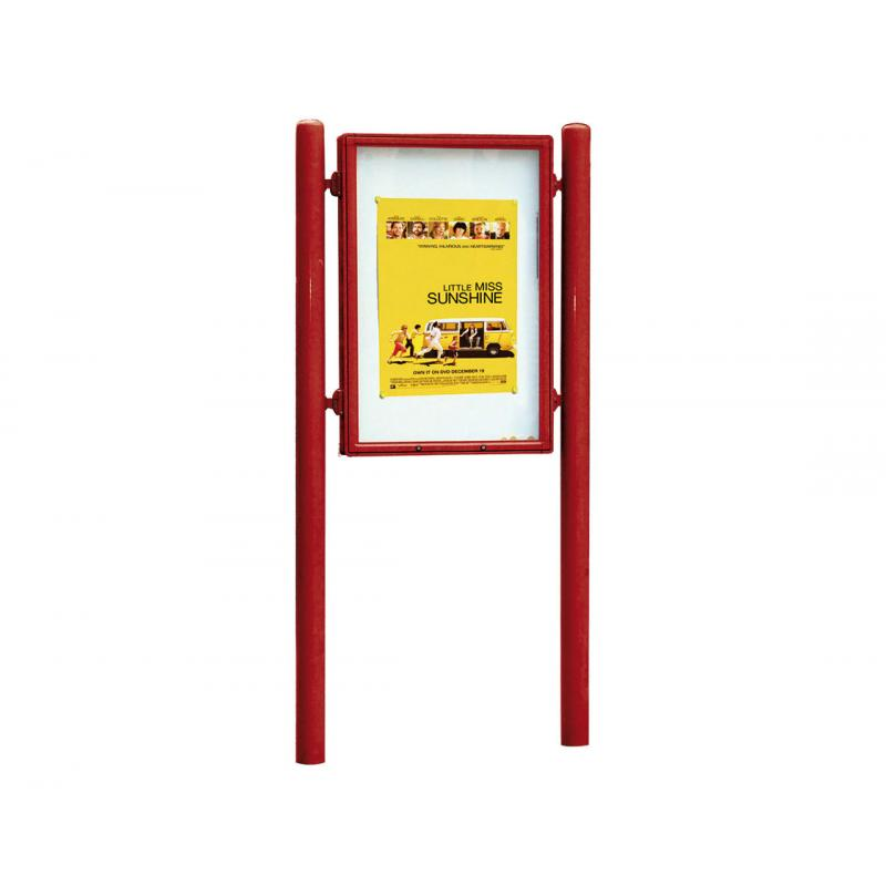 Vega outdoor lockable poster display case